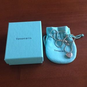 Tiffany & Co sterling silver heart locket